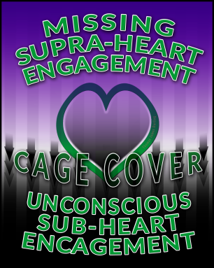 Missing supra-heart engagement allows a vibrational cage to remain around us trapping us under the heart chakra level where we are karmically challenged to reduce such unconscious sub-heart encagement.
